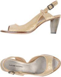 CoSTUME NATIONAL Sandals - Natural