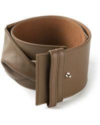 Agnona Twisted Belt - Brown