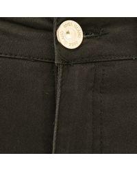 River Island Khaki High Waisted Shorts - Lyst
