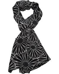 AKIRA - Chrysanthemum Print Scarf - Lyst