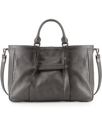 Longchamp 3d Leather Tote Bag - Lyst