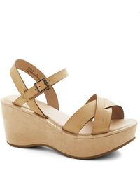 ModCloth Wear It Well Wedge - Lyst