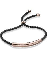 Monica Vinader Esencia Friendship Bracelet - Lyst
