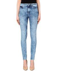 Sandro Skinny High-Rise Jeans - Lyst