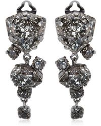 On Aura Tout Vu - Patina Earrings - Lyst