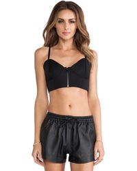 First Base Wetsuit Bra Top - Lyst