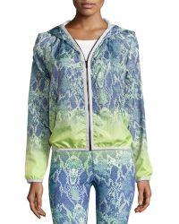 Charlie Jade - Python-print Hooded Jacket - Lyst
