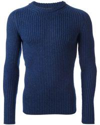 Dolce & Gabbana Ribbed Knit Jumper - Lyst