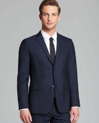 Theory Rodolf Cf Baxley Sport Coat - Blue