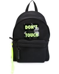 Joshua Sanders Don'T Touch Back Pack - Black