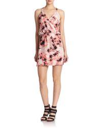 Parker Kita Silk Dress - Lyst