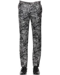 The Kooples - 17.5Cm Python Jacquard Wool Trousers - Lyst