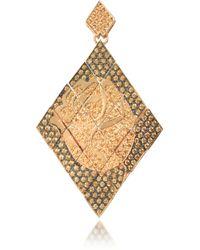 Azhar - Rosa Silver And Zircon Mono Earring - Lyst