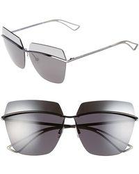 Dior Women'S 63Mm Retro Metal Sunglasses - Silver/ Grey Silver Mirror - Lyst