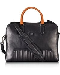 Pink Pony | Black Label Quilted Calfskin Briefcase | Lyst