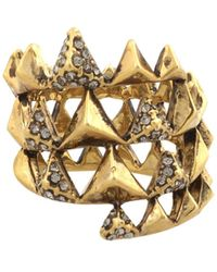 House Of Harlow Pyramid Wrap Ring - Lyst