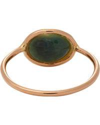 Dezso By Sara Beltran Cornu Shell  Rose Gold Ring - Lyst
