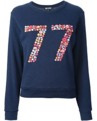 Holly Fulton - 77 Embroidered Sweatshirt - Lyst