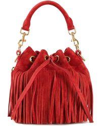 Saint Laurent Small 'Emmanuelle' Bucket Bag - Lyst