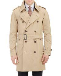 Aquascutum Corby Trench Coat beige - Lyst
