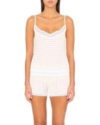 Cheek Frills - Striped Jersey Pyjama Set - Lyst