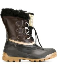 DSquared² After Ski Leather Ankle Boots - Black