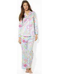 Lauren by Ralph Lauren - Paisley Pyjama Set - Lyst