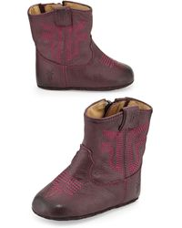 Frye Leather Rodeo Bootie - Lyst