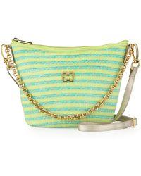 Eric Javits Dame Squishee® Shoulder Bag green - Lyst