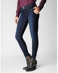 True Religion Casey Low Rise Super Skinny Womens Jean - Lyst