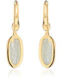 Monica Vinader Vega Drop Earrings - Lyst