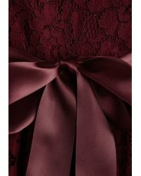 Coco Love Lovely As Lychee Dress In Wine - Red