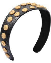 Valentino Gryphons Headband - Black