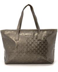 Gucci Brown Tote Bag - Lyst