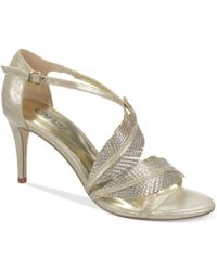Carlos By Carlos Santana Frisco Dress Sandals - Lyst