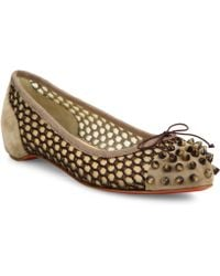 christian louboutin loafers replica - Christian louboutin Corbeau in Transparent | Lyst