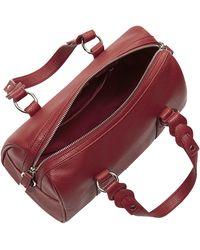 Harrods Lichfield Barrel Bag - Red