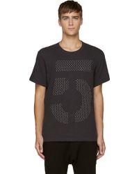 Rag & Bone Black Dot Graphic T_shirt - Lyst