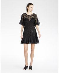 Cynthia Rowley Lace Dress - Lyst
