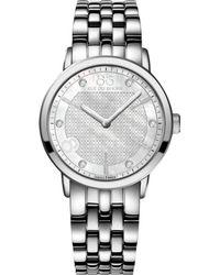 88 Rue Du Rhone | 87wa140006 Women's Double 8 Origin Mother Of Pearl Diamond Bracelet Strap Watch | Lyst