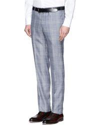 Tomorrowland - Glen Plaid Wool-silk Suit - Lyst