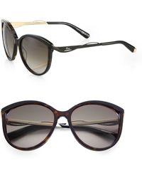 Dior Oversized Cat'S-Eye Sunglasses - Lyst