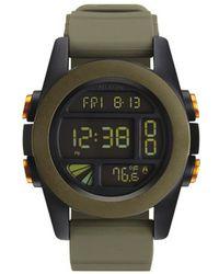 Nixon Ano Unit Khaki Black And Orange Watch - Lyst