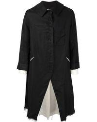 Angel Chen - Button Coat - Lyst