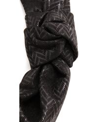 Eugenia Kim Tabea Headband - Black - Lyst