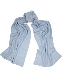N.peal Cashmere Ribbed Cashmere Scarf - Lyst