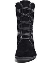 Blondo - Tyra Faux Fur-lined Suede Boots - Lyst