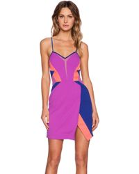 Three Floor Multicolor Iman Dress - Lyst