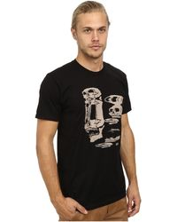 Obey Don'T Trip Tee - Lyst