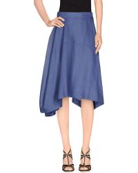 Vivienne Westwood Anglomania | 3/4 Length Skirt | Lyst